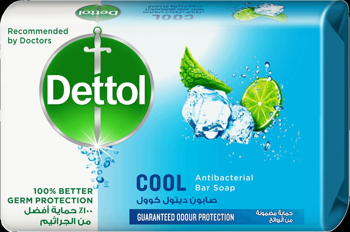 Dettol Anti-Bacterial Bar Soap Cool