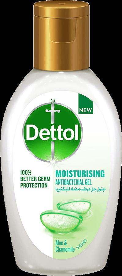معقم اليدين المرطب والمضاد للبكتيريا من ديتول - بالصبار والبابونج