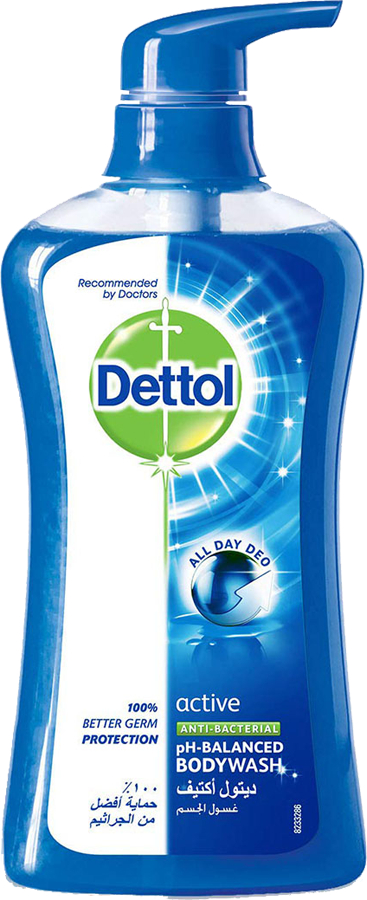 Dettol Anti-Bacterial Body Wash Active