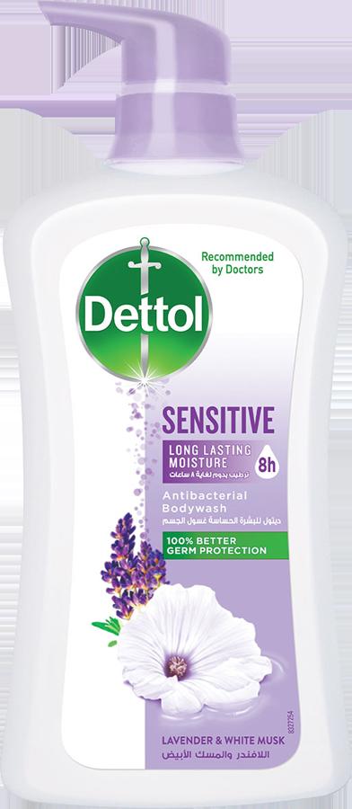 Dettol Anti-Bacterial Body Wash Sensitive